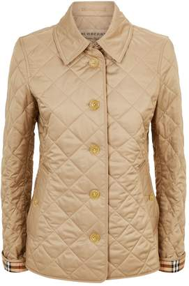 Burberry Diamond Quilted Jacket