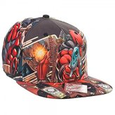 Marvel Extreme Deadpool Sublimated Adult Snapback Cap Fits Most