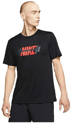Nike Big Tall Dry Tee Legend NB OG (Black) Men's Clothing