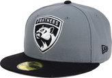 New Era Florida Panthers Gray Black 59FIFTY Cap
