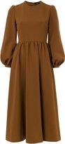 G.V.G.V. puffy sleeves flared dress