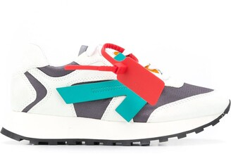 Off-White Leather Arrows Sneakers