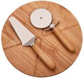 Sheridan Wood Three-Piece Pizza Board Set