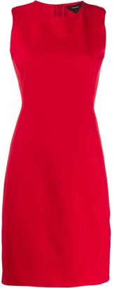 Theory Scuba fitted sleeveless dress