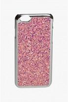 Select Fashion Fashion Womens Pink Iridescent Glitter Iphone 6 Case - size One