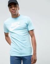 Nike Ultra Raw Hem T-shirt In Blue 847542-499
