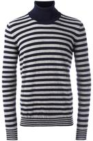 Nuur striped roll neck jumper