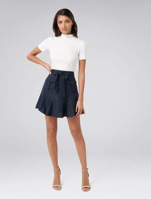 Ever New Tamika Pocket Front Flippy Skirt