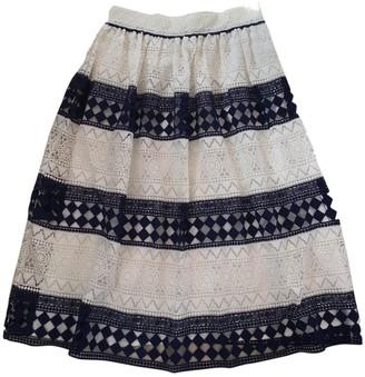 Philosophy di Lorenzo Serafini White Cotton Skirt for Women