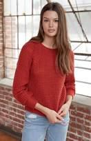 La Hearts Shaker Stitch Pullover Sweater
