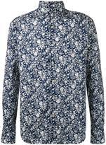 Xacus abstract print shirt - men - Cotton - 38