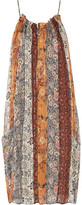 Isabel Marant Abilay Printed Silk-Georgette Dress
