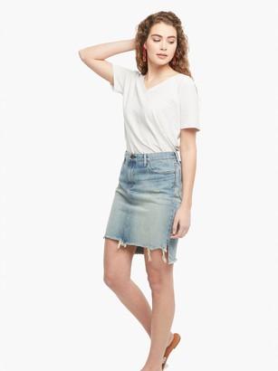 ABLE The Fatima Denim Skirt