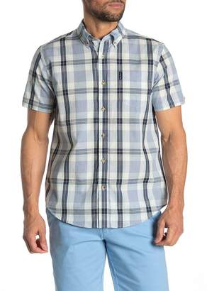Ben Sherman Dogtooth Check Short Sleeve Union Fit Shirt