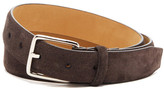 Cole Haan Feather Edge Suede Belt