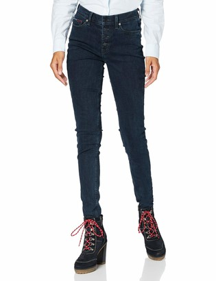 Tommy Jeans Women's Nora Mr Skny Btn Fly Lmdbst Trouser