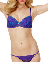 Betsey Johnson Stralet Lace Balconette Bra