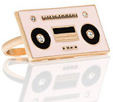 Kate Spade Jazz things up boom box ring