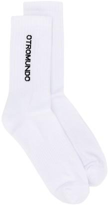 Marcelo Burlon County of Milan Otromundo short socks