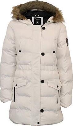 Brave Soul Ladie's Jacket WHITEHORSE2 White UK 10