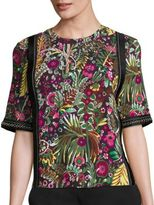 3.1 Phillip Lim Wild Things Floral-Print Top