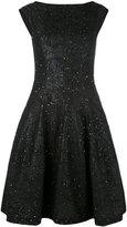 Talbot Runhof Golo dress - women - Acrylic/Lurex/Polyester/Wool - 34