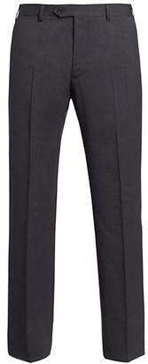 Giorgio Armani Solid Wool Pants