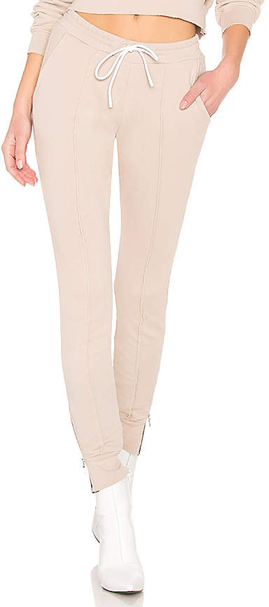 Cotton Citizen Milan Joggers With Ankle Zippers