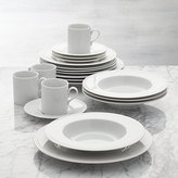 Crate & Barrel Staccato 20-Piece Dinnerware Set