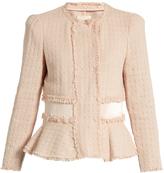 Rebecca Taylor Cropped tweed jacket