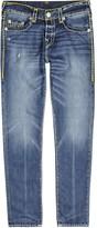 True Religion Rocco Super T Blue Straight-leg Jeans