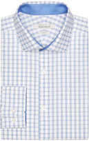 Perry Ellis Slim Fit Plaid Dress Shirt