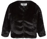 The BRAND Black Faux Fur Jacket