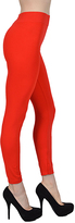 Red High-Waist Leggings