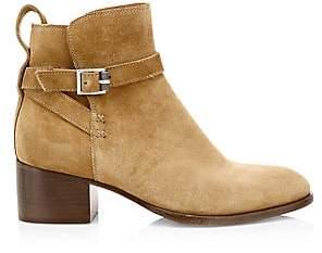 Rag & Bone Women's Walker Buckle Suede Ankle Boots