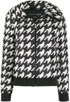 Perfect Moment Queenie houndstooth puffer coat