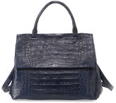 Nancy Gonzalez New Top-Handle Crocodile Satchel Bag