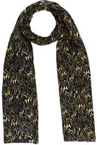 Thomas Wylde Abstract Printed Scarf