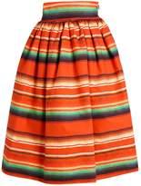 Stella Jean Printed Puffy Skirt