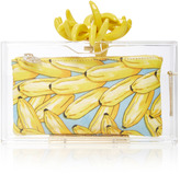 Charlotte Olympia Bananas For Pandora Perspex Clutch