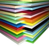 Shine Pack of 250 Sheets Coloured Card A4 Assorted Colours 160gsm