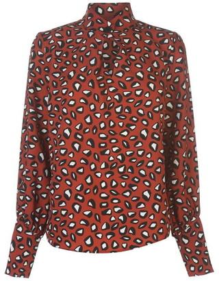 Linea Big button blouse