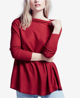Free People Lover Ribbed Cutout Top