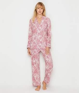 Lauren Ralph Lauren Cotton Jersey Knit Pajama Set