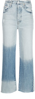 Mother The Rambler cropped ankle jeans