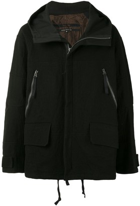 Ziggy Chen Oversized Zipped Hooded Jacket