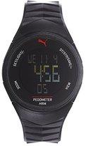 Puma Unisex PU911351003 91135 Ignite Digital Display Quartz Black Watch