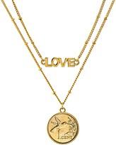 American Coin Treasures Hummingbird Coin Love Necklace