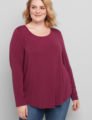 Lane Bryant Long-Sleeve City Tee