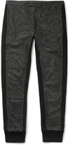 Dolce & Gabbana - Tapered Contrast-trimmed Cotton-blend Trousers